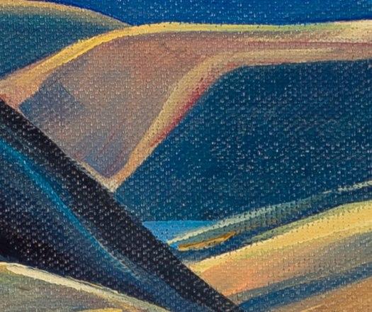 Detail: Brownlee Reservoir