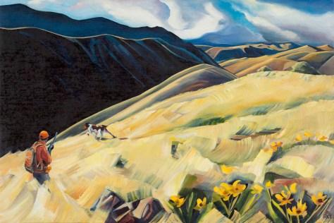 """""""Angus of the Chukar Hills"""" by Rachel Teannalach"""