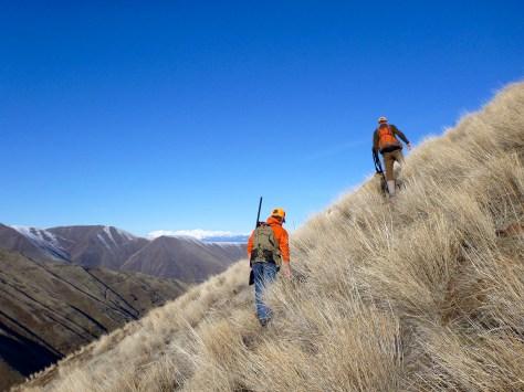 Side-hilling