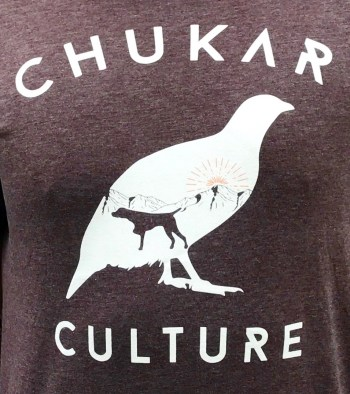 Heathered Brown Chukar Culture T-shirt