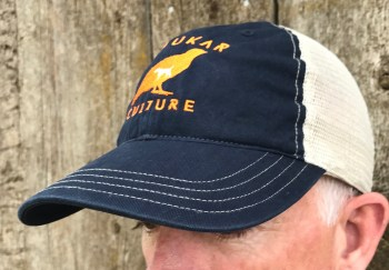 Chukar Culture relaxed snap-back trucker hat