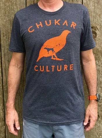 Heathered Charcoal Chukar Culture T-shirt