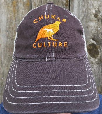Chukar Culture unstructured snap-back trucker hat