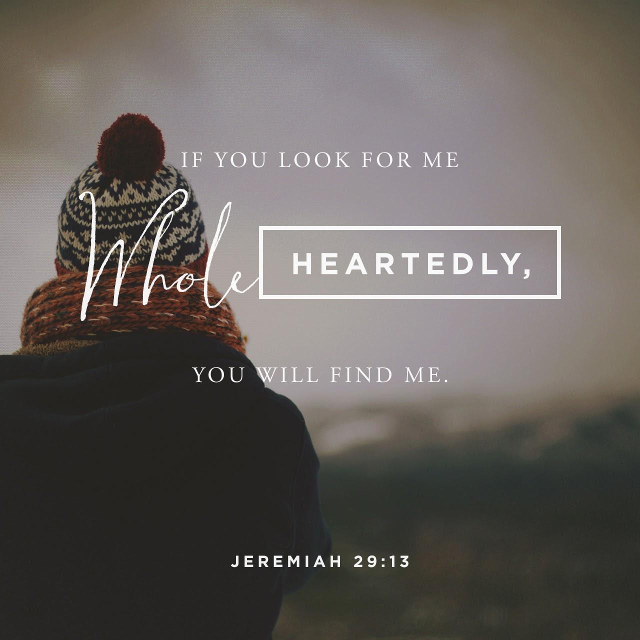Jeremiah 29:13
