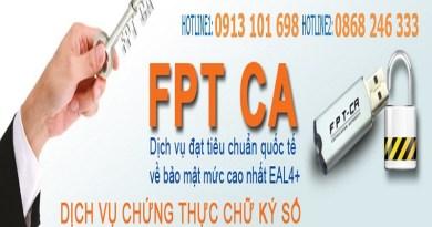 Gia hạn chữ ký số FPT và cập nhật chữ ký số lên hệ thống điện tử