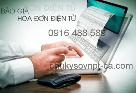Sử dụng VNPT CA cho Hóa đơn điện tử – Giá chữ ký số VNPT