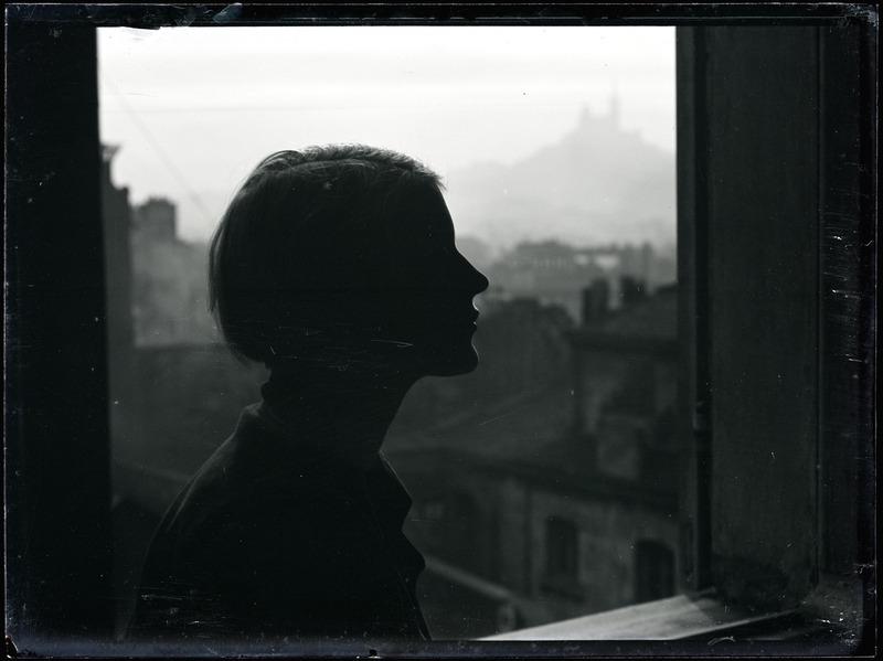 #chumboworld / Man Ray: Silhouette de Lee Miller, vers 1930 /