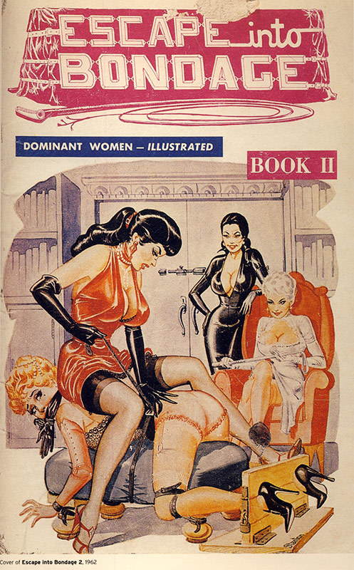 "historyofbdsm: ""Eric Stanton's cover for Escape into Bondage 2, 1962 """