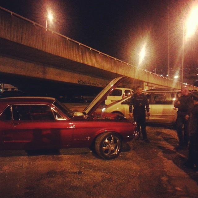 '72 Mustang / Bairro da Liberdade #Lisbon http://ift.tt/1FtJUR2
