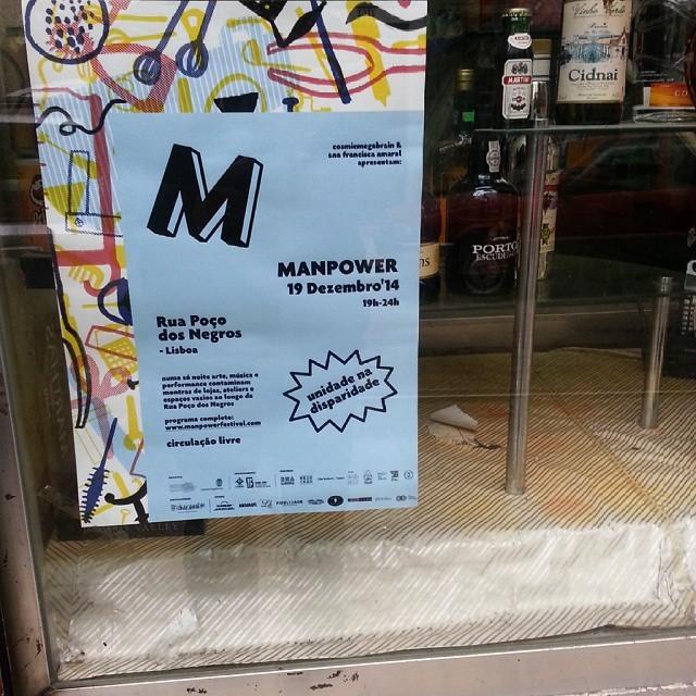 Manpower Festival #downtownlisbon http://ift.tt/1A0F5x9