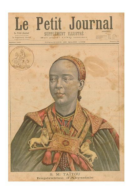 """prepaidafrica: """"Who was Taytu Betul? Taytu Betul was Emperor Menelik II's third wife and was thereby Empress of Ethiopia. She was his confidante, a loyal wife, a commander, and a brilliant military strategist. Taytu Betul (also Taitu Betul), whose..."""