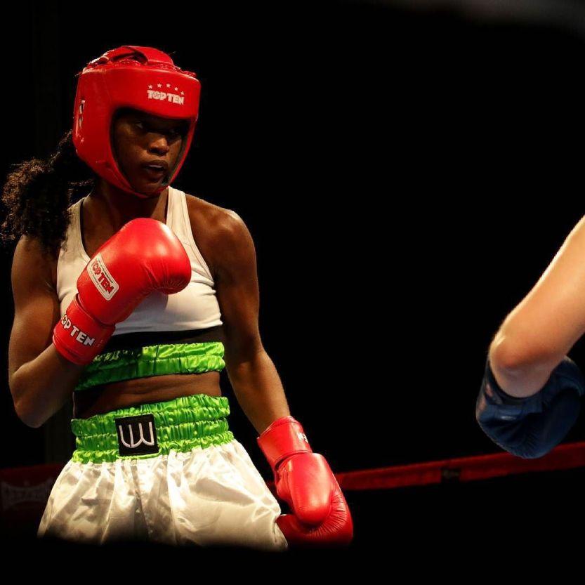 "Nancy ""Ali"" Moreira, BB Team Porto, na #Odivelas Box Cup 2015. #boxinglisboa // #boxe // #classicos // by boxinglisboa"