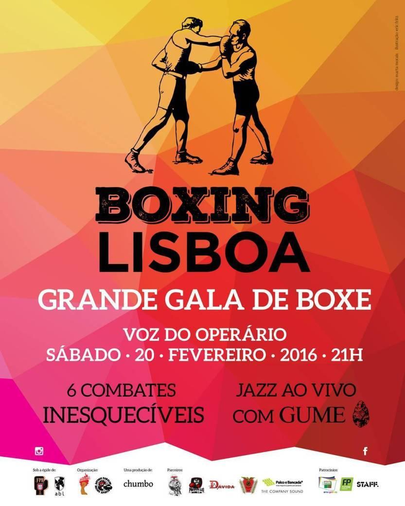 O Boxe regressa ao centro da cidade // #boxinglisboa // #cultura // #Lisboa // Sábado, 20 Fevereiro 2016 // #boxe // #jazz // #Portugal by boxinglisboa