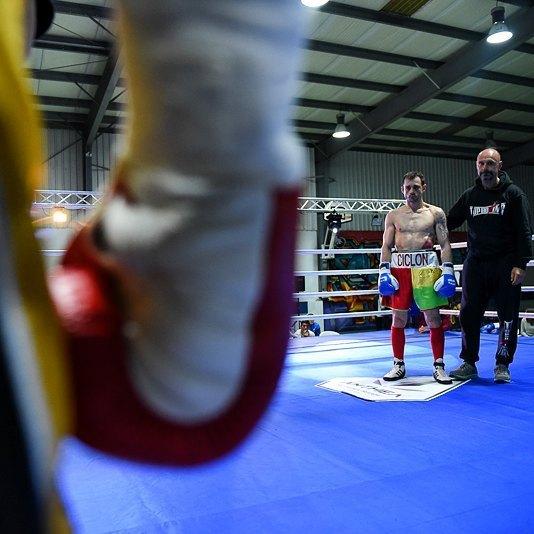 """Luis """"Ciclon"""" Espinosa, em #Lisboa / #boxinglisboa / #combates / #boxeo / #boxe / #boxinghistory / #cultura by boxinglisboa"""