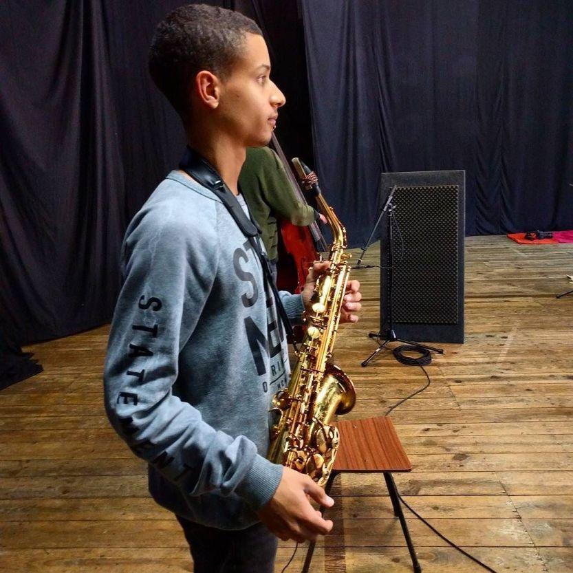 Tiago Fernandes on saxophone / #GUME no Casino / #thecompanysound / http://ift.tt/24f8pTH