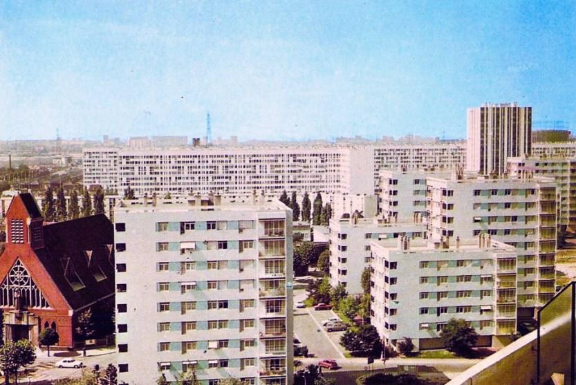 """retrogeographie: """" Villeneuve-la-Garenne. Quartier de la Caravelle. """""""