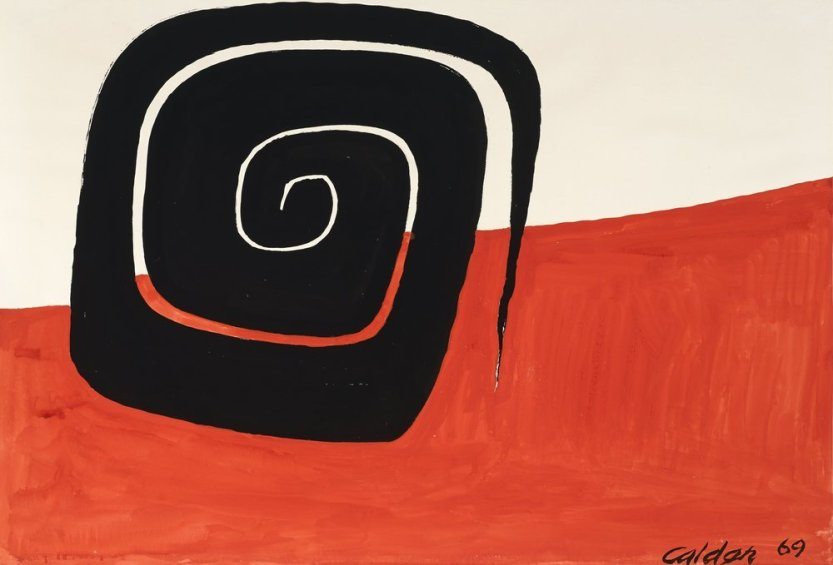 "furtho: ""Alexander Calder's Angled Spiral, 1969 (via here) """