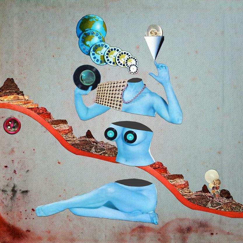 "eugenialoli: """"Duochrome Vinyl"" by Eugenia Loli Portfolio   Store   Instagram "" #chumboworld / Eugenia Loli /"