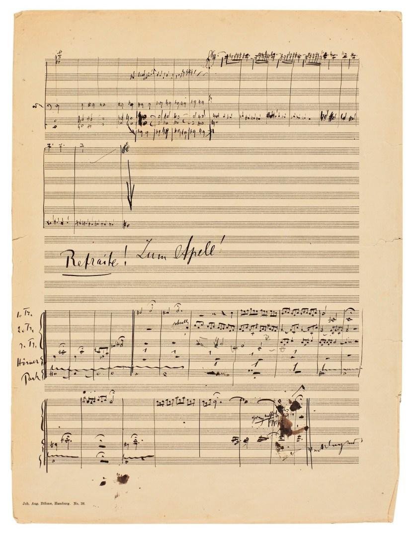 #chumboworld / Mahler's Symphony No. 2, draft /