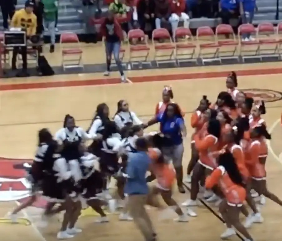 Massive Brawl Broke Out Between Cheerleading Squads Last