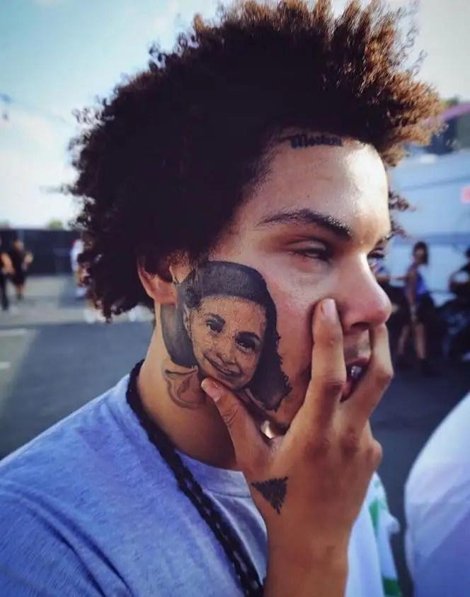 Anne Frank Face Tattoo : frank, tattoo, Fella's, Frank:, That's, Frank, Tattoo, Barstool, Sports