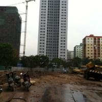 Cập nhật tiến độ thi công Chung cư VP5 Linh Đàm ngày 15/05/2013