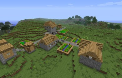 village minecraft villages natural finder houses simple tutorial things map update survival