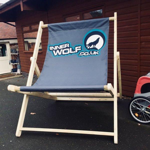 Inner Wolf Giant Deckchair