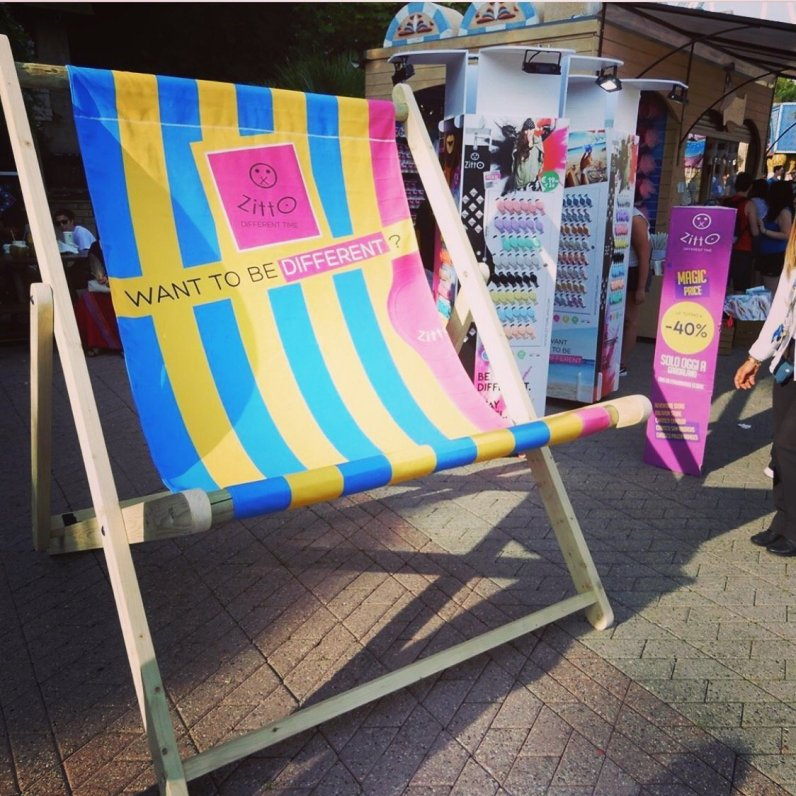Giant Deckchair for Zitto