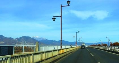 長野市長野大橋飯綱山