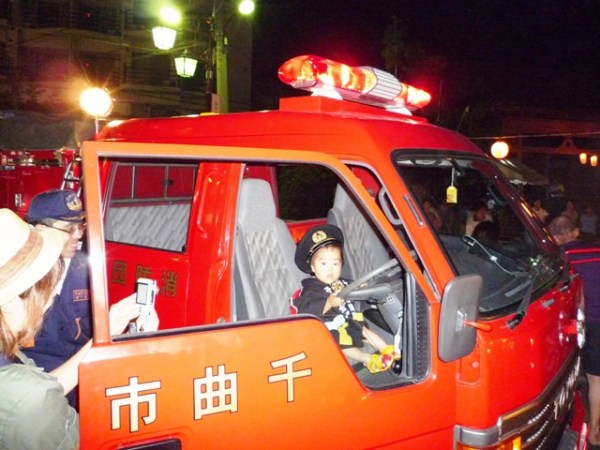 戸倉上山田温泉盆踊り大会消防団