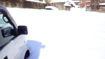 大雪積雪中央ホテル駐車場