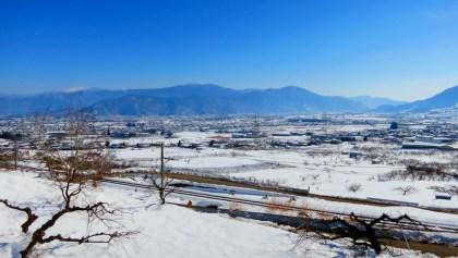 千曲市雪景色上田市菅平高原スキー場