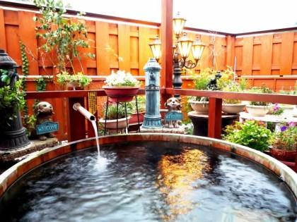 中央ホテル温泉貸切露天風呂