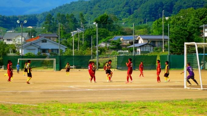 夏休み合宿高校サッカー部