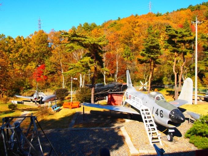 長野県麻績村聖湖もみじ祭聖博物館