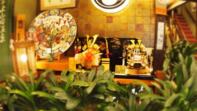 5月飾り戸倉上山田温泉中央ホテル