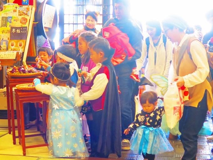ハロウィーン仮装戸倉上山田温泉中央ホテル