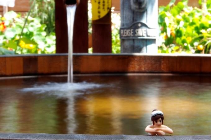 かけ流し温泉貸切露天風呂中央ホテル