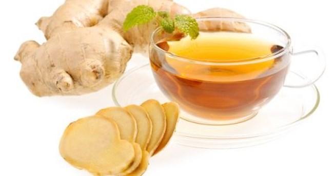 Cách uống trà xanh giảm cân với gừng
