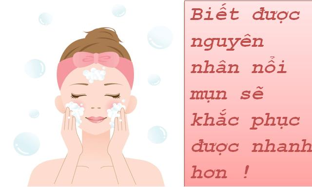 Cách rửa mặt đúng cách cho da mụn