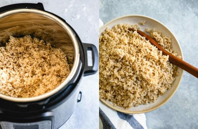 Cách nấu cơm gạo lứt giảm cân bằng nồi cơm điện