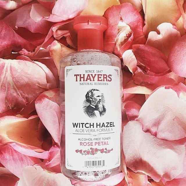Nước hoa hồng cho da dầu mụn Thayers