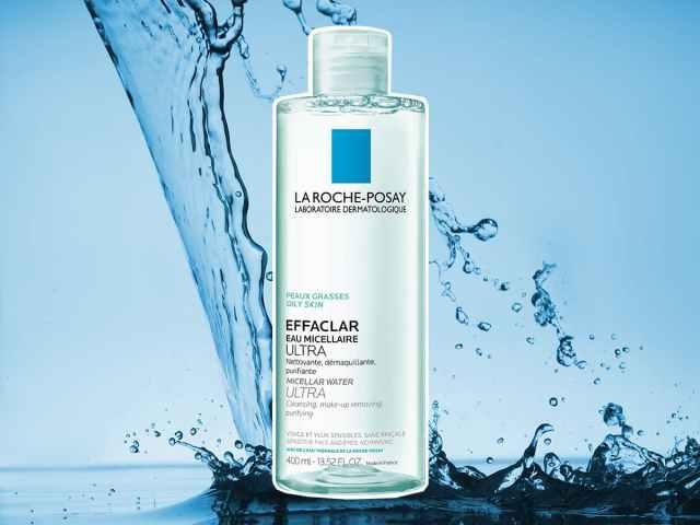 Nước tẩy trang cho da dầu mụn LAroche posay