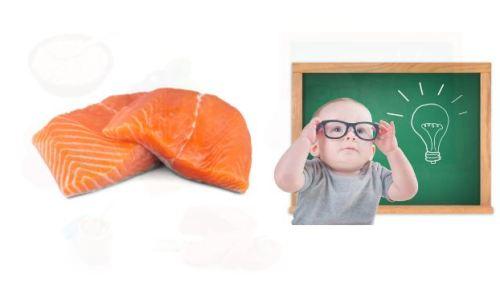 Thực phẩm giúp bé thông minh