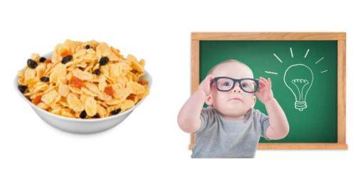 Thực phẩm giúp bé thông minh vượt trội