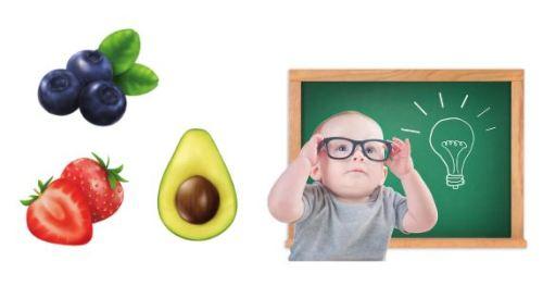 Thực phẩm giúp bé thông minh hơn