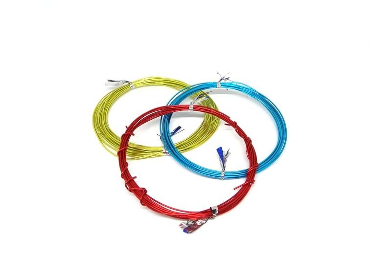 alambre de colores para manualidades