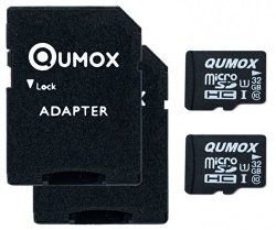 tarjeta micro sd qumox de 32gb