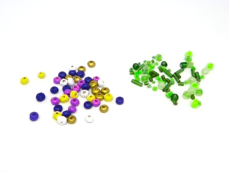 cuentas de colores para bisuteria